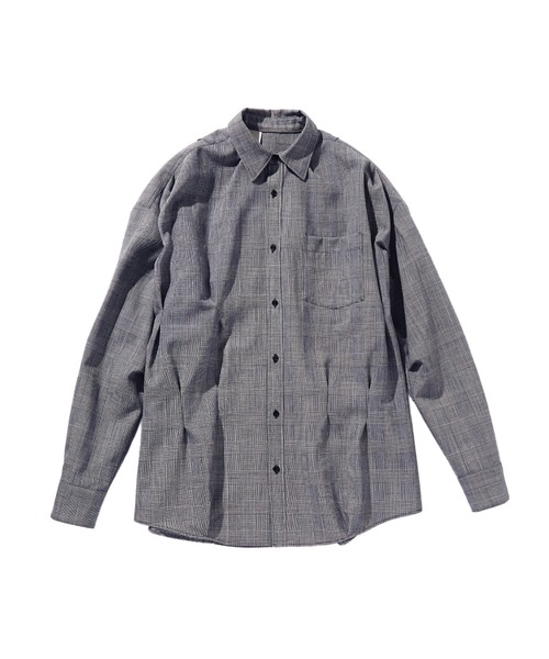 SPRING2020 RANDOM TACKED SHIRT