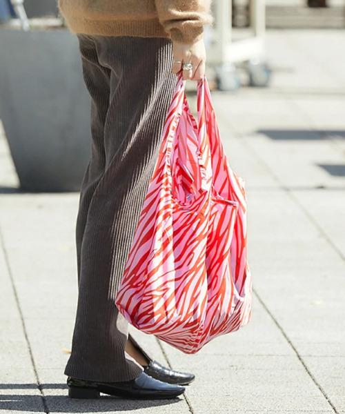 KIND BAG(カインドバッグ)の「〈KIND BAG/カインドバッグ〉プラスチック再生エコバッグ(エコバッグ/サブバッグ)」|ピンク系その他