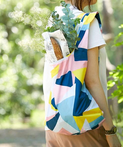 KIND BAG(カインドバッグ)の「〈KIND BAG/カインドバッグ〉プラスチック再生エコバッグ(エコバッグ/サブバッグ)」|カラフル