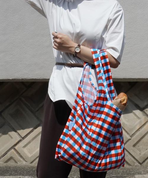 KIND BAG(カインドバッグ)の「〈KIND BAG/カインドバッグ〉プラスチック再生エコバッグ(エコバッグ/サブバッグ)」|トリコロール