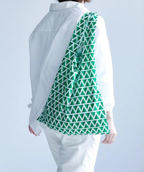 KIND BAG(カインドバッグ)の「〈KIND BAG/カインドバッグ〉プラスチック再生エコバッグ(エコバッグ/サブバッグ)」|グリーン