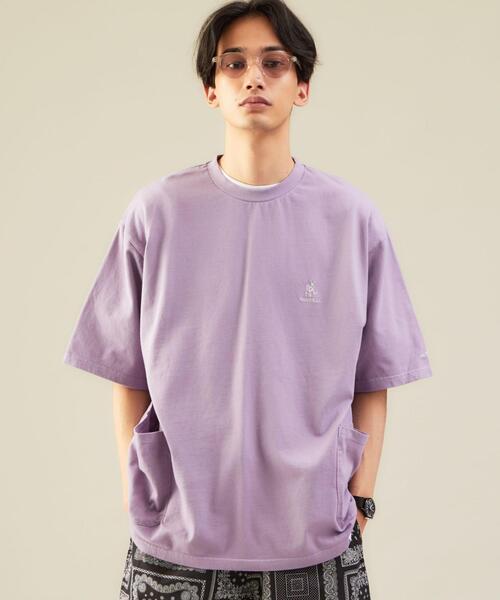 別注 [ グラミチ ] GRAMICCI GLR ウエスト ダブルポケット Tシャツ †