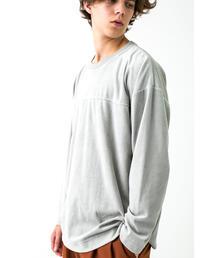 <monkey time> VELOUR L/SL TEE/Tシャツ