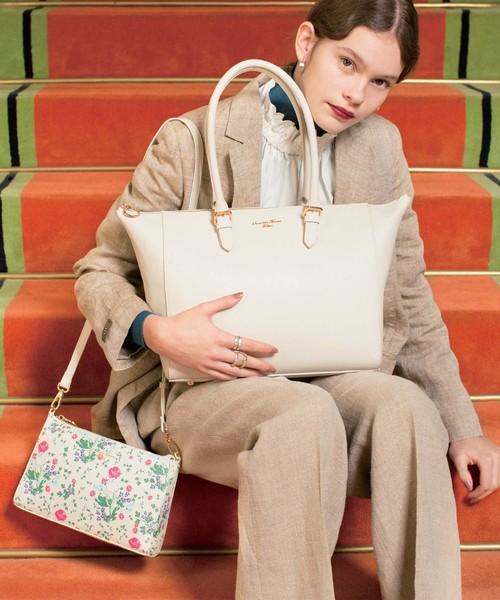 品質が オリジナル花柄ポーチ付きバッグ(トートバッグ)|Samantha Samantha Thavasa Thavasa Deluxe(サマンサタバサ デラックス)のファッション通販, NUTS(時計&デザイン雑貨):9f872ec4 --- pyme.pe