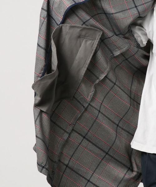 【BURNER SELECT】チェック ステンカラー コート