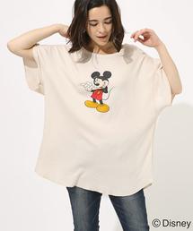 AZUL BY MOUSSY(アズールバイマウジー)のHi MICKEY TEE/ハイミッキーTシャツ(Tシャツ/カットソー)