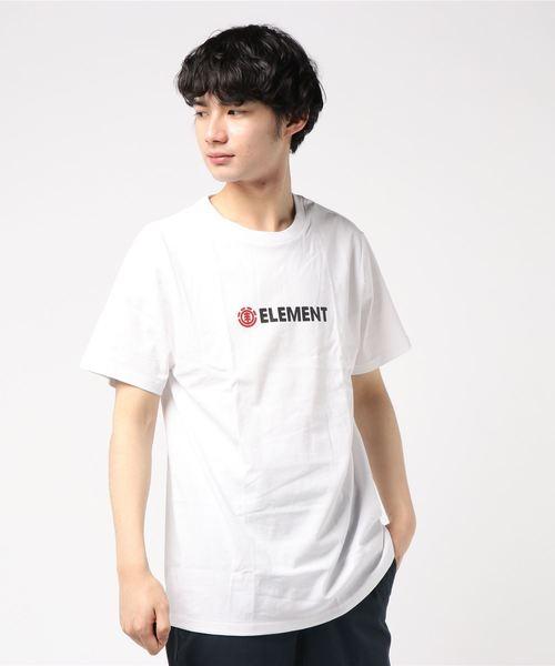 ELEMENT メンズ  BLAZIN MINI SS Tシャツ