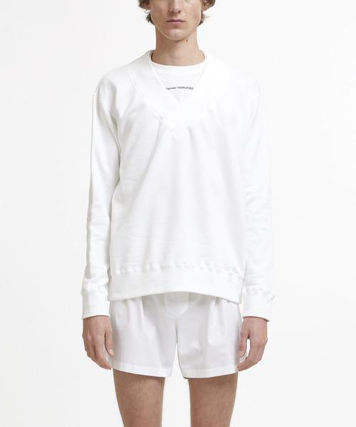 新しく着き 【セール】Layered Collegiate Decortique Decortique V-Neck V-Neck Sweater(スウェット) DRESSEDUNDRESSED(ドレスドアンドレスド)のファッション通販, 水巻町:da7a488b --- rise-of-the-knights.de