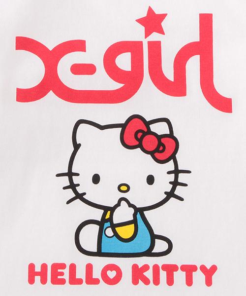 【Hello Kitty】Tシャツワンピース