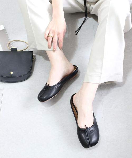 【chuclla】足袋デザイン 靴 バレエシューズ スリッパ chw777