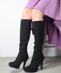 ESPERANZA(エスペランサ)のESPERANZA(エスペランサ)プラットフォームロングブーツ(ブーツ)