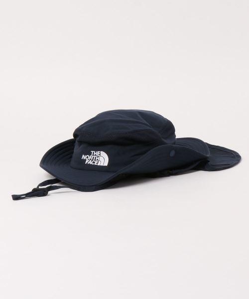 THE NORTH FACE(ザノースフェイス)の「THE NORTH FACE/ザ・ノースフェイス/sunshield hat/キッズ用サンシールドハットNNJ02007(ハット)」|ネイビー