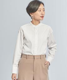 【WORK TRIP OUTFITS】★ WTO BC スタンド シャツ オフホワイト