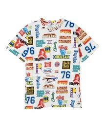 LIVE IN 76柄 オーバーサイズTシャツホワイト