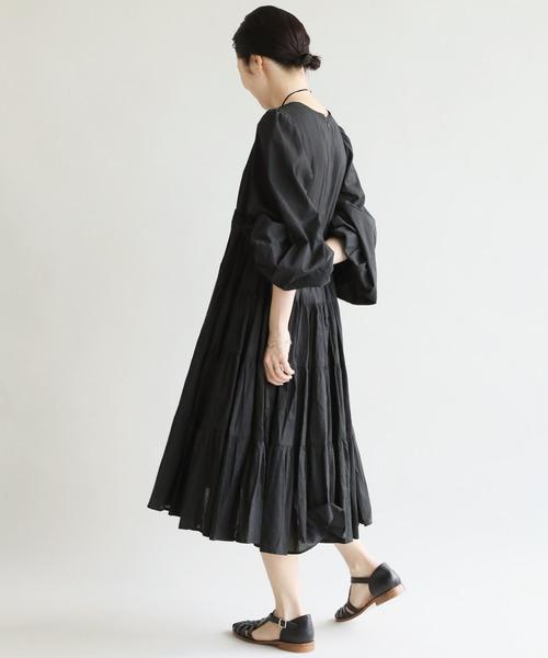 IENA(イエナ)の「【MARIHA/マリハ】IENA別注 ショートドレス◆(ワンピース)」|ブラック