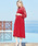SweetMommy(授乳服&マタニティ)(スウィートマミー)の「マタニティ 授乳口付 レース切替ハイネックワンピース(マタニティウェア)」|詳細画像