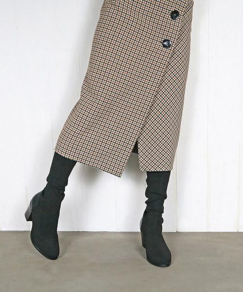 格安新品  ヒールアップロングソックスブーツ(ブーツ)|enchanted(エンチャンテッド)のファッション通販, 石村萬盛堂:915ec218 --- ascensoresdelsur.com