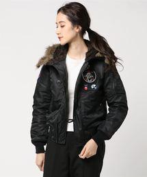 プリマロフトエアフォース ワッペン付 N-2Bジャケット