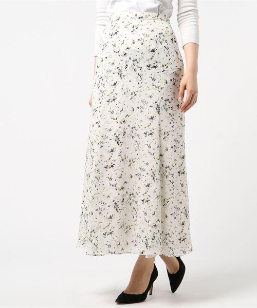 いいスタイル ジョーゼットフラワースカート(スカート) GALLARDAGALANTE(ガリャルダガランテ)のファッション通販, FLiC -フリック- ワイシャツ専門店:970f2b91 --- skoda-tmn.ru