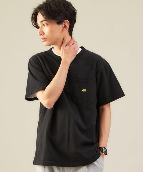 別注 [ ザ ノースフェイス パープルレーベル ] THE NORTH FACE PURPLE LABEL × GLR 7oz グラフィック Tシャツ