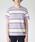 BLACK LABEL CRESTBRIDGE(ブラックレーベル・クレストブリッジ)の「ラガーボーダーT(Tシャツ/カットソー)」|パープル
