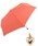 Wpc.(ダブルピーシー)の「【Wpc.】オンライン限定無地アンブレラ(晴雨兼用) ハートチャームmini(折りたたみ傘)」 ライトピンク