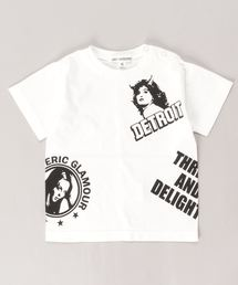 DETROIT SCRATCH Tシャツ【XS/S/M】アイボリー