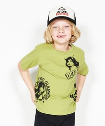 DETROIT SCRATCH Tシャツ【XS/S/M】グリーン
