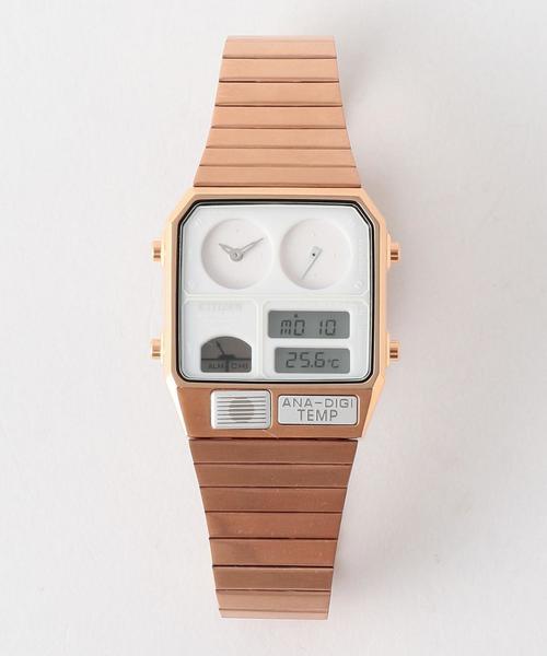 【別注】 <CITIZEN(シチズン)> A/DIGITEMP PG/腕時計