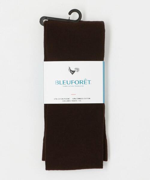 <BLEU FORET(ブルーフォレ)>コットンタイツ