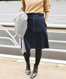 IENA(イエナ)の親子コール 台形スカート◆(スカート)