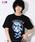 ジョジョの奇妙な冒険(ジョジョノキミョウナボウケン)の「【ジョジョの奇妙な冒険】レオーネ・アバッキオ/エクスクルーシブTシャツ/JOJO(Tシャツ/カットソー)」|ブラック