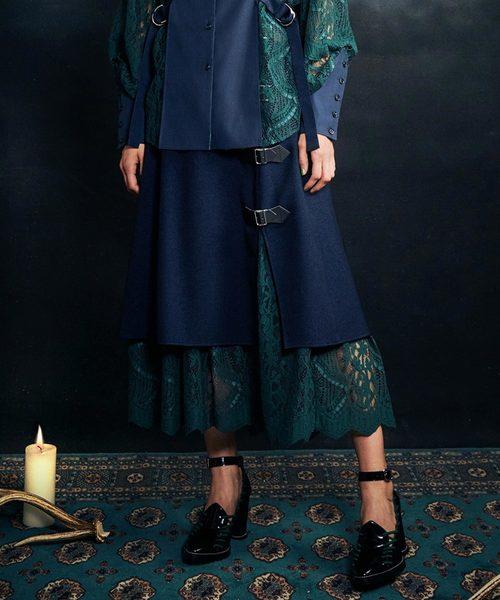 【本日特価】 Layered Wrap Skirt(スカート) PAMEO Wrap PAMEO POSE(パメオポーズ)のファッション通販, First Pure:62bd9bbb --- ascensoresdelsur.com