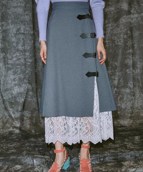 正規激安 Layered Wrap PAMEO Skirt(スカート)|PAMEO Wrap POSE(パメオポーズ)のファッション通販, ファッション&インテリア Ane-INN:315c97bb --- ascensoresdelsur.com
