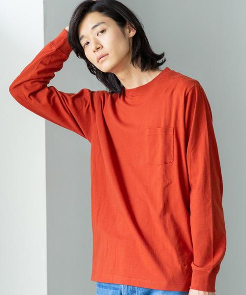 USAコットンロングスリーブTシャツ