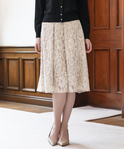 特価商品  モールフラワーラッセルスカート, Crouka/クローカ 4e8656af