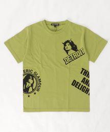 DETROIT SCRATCH Tシャツ【L】グリーン