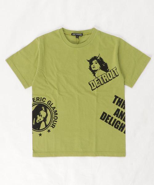 DETROIT SCRATCH Tシャツ【L】