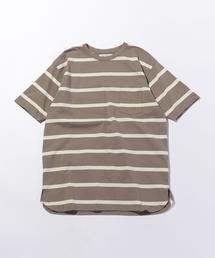 <nonnative(ノンネイティブ)>  JERSEY BORDER SS/Tシャツ □□