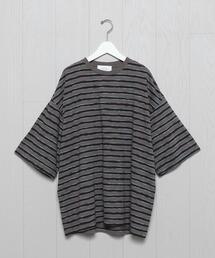 <UNUSED>BORDER T-SHIRT/Tシャツ.