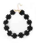 MOUSSY | flower pattern choker(ネックレス)