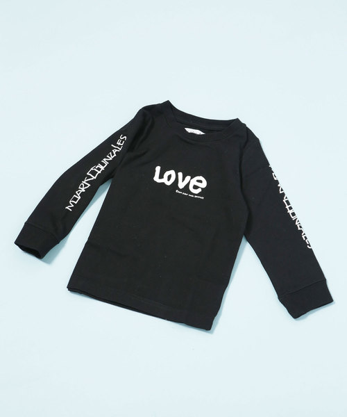 Mark Gonzales/LOVE ロングススリーブ Tシャツ