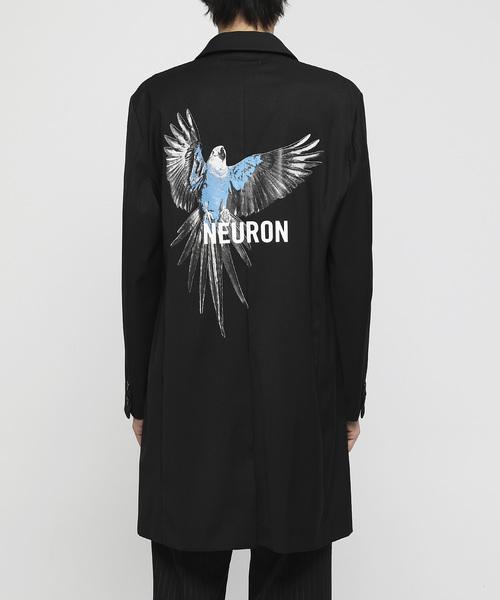 ファッション NEURON ロングジャケット, クシラチョウ 3ed9b468