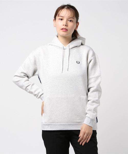 【日本産】 Taped Hooded Hooded Sweatshirt(パーカー) FRED|FRED PERRY(フレッドペリー)のファッション通販, 神戸町:55151044 --- 888tattoo.eu.org