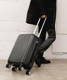 GIORDANO(ジョルダーノ)の[GIORDANO] ロゴプリントキャリーケース(スーツケース/キャリーバッグ)