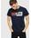 DIESEL(ディーゼル)の「ユニセックス Tシャツ Wロゴ デザイン(Tシャツ/カットソー)」|ネイビー