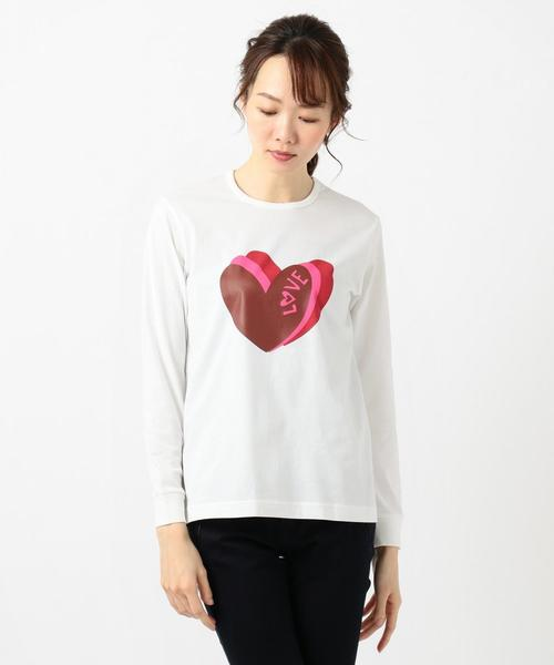 【LOUNGE WEAR】アート ロングTシャツ