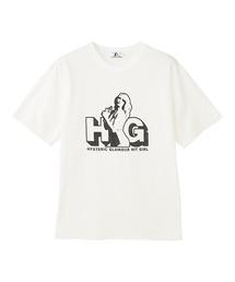 HG HIT GIRL Tシャツホワイト