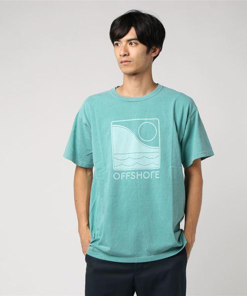 「OFFSHORE/オフショア」 ワントーンロゴTシャツ