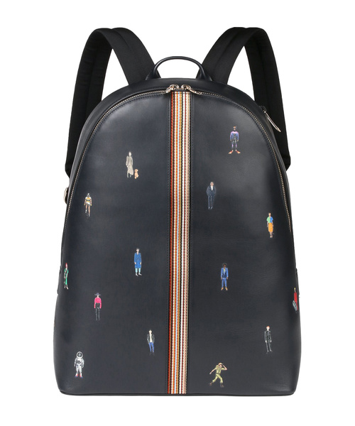 6ec5745887e7 Paul's People' PRINT BACKPACK / 873629 V430(バックパック/リュック ...